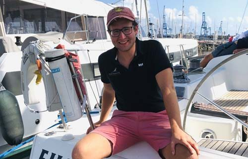 Global Yacht racing Alex Fisher
