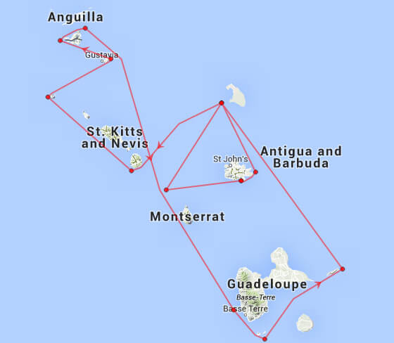 Caribbean 600 Course