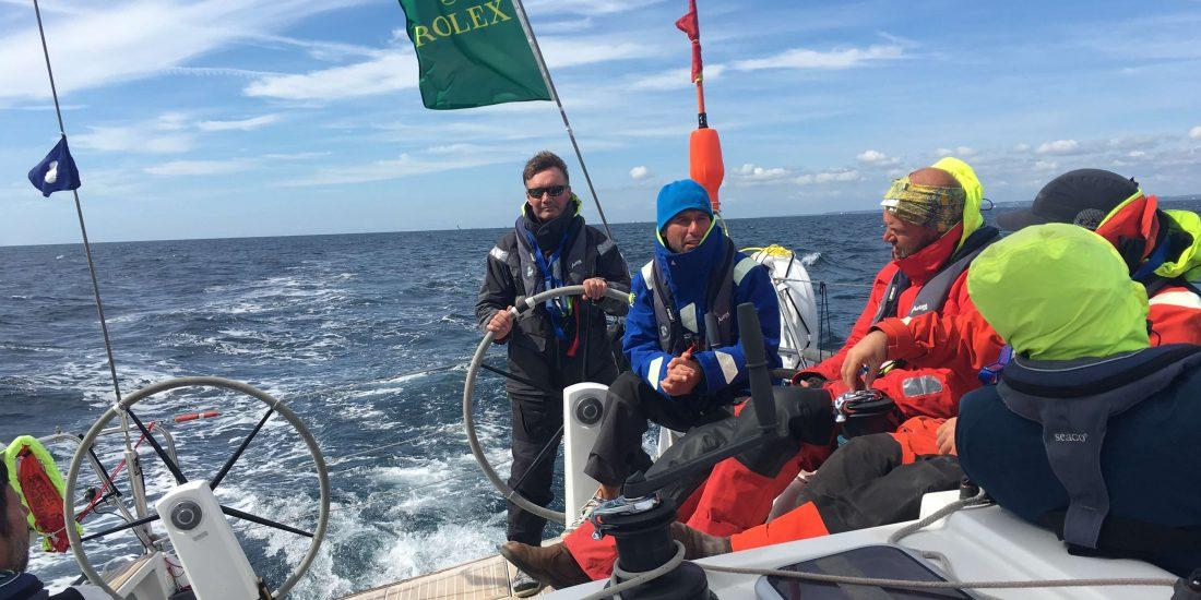 Race Yacht Charter JK