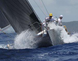 Sunset Caribbean Racing Global Yacht Racing
